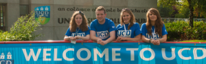 Last but not least, welcome to UCD!