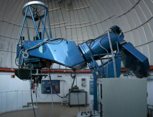 The telescope in Teide Observatory