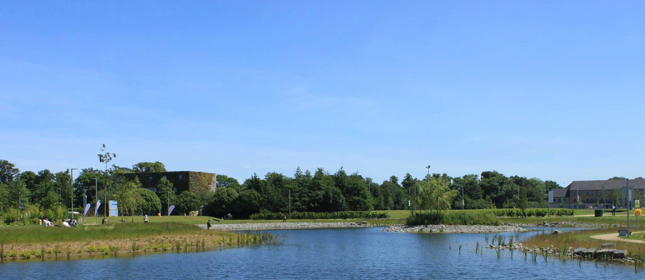 Woodland walks and lakes
