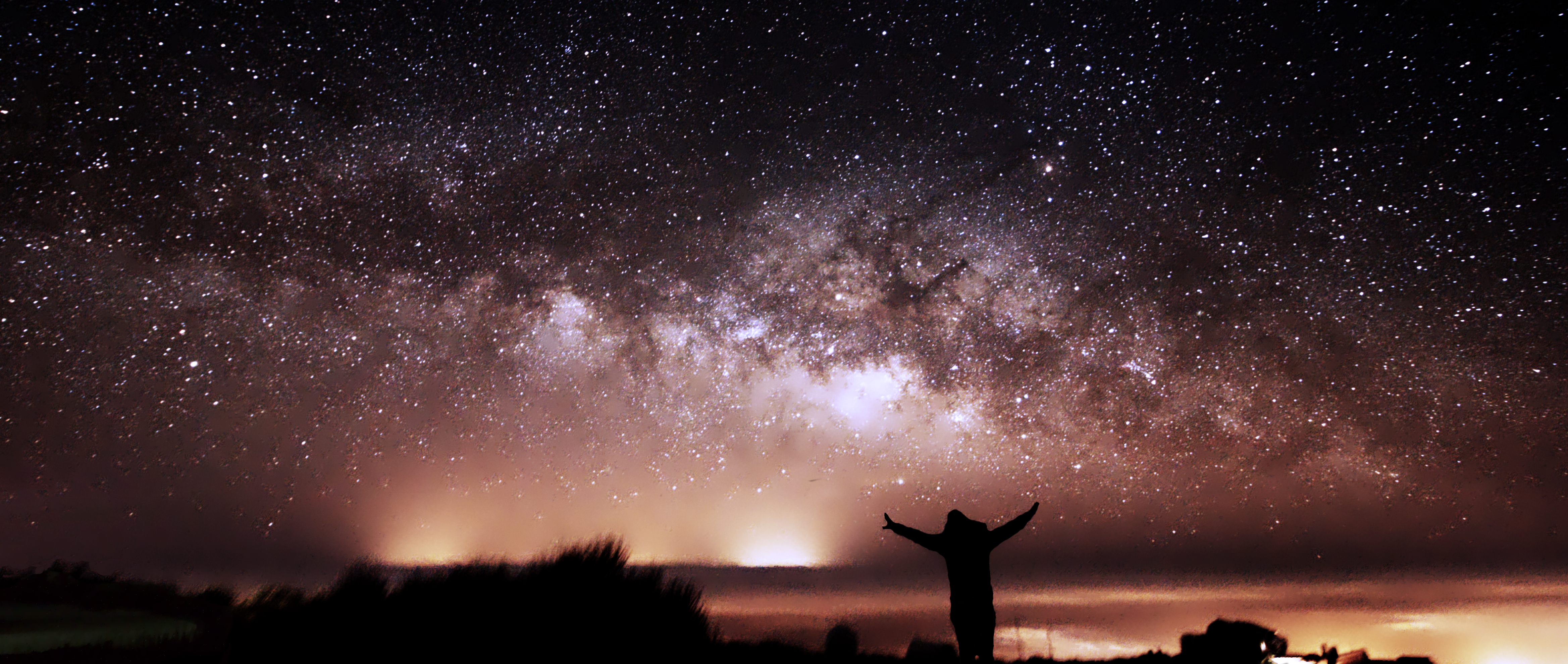 Me and the Milky Way, taken by our expedition leader and astrophotographer Dr Antonio Martin-Carrillo!