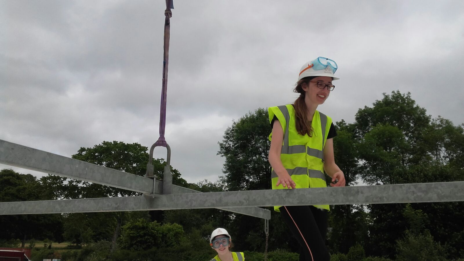 Megan Weston positioning harness