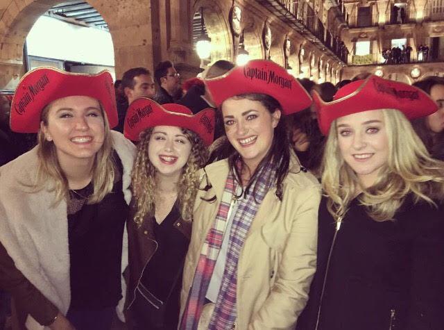 Salamanca; Students' New Years,