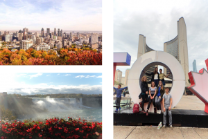 Montreal in Autumn, Niagara falls and Toronto!