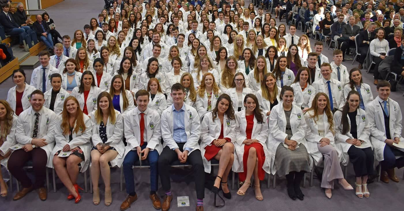 UCD Veterinary White Coat Ceremony and Midterm Break Clinical Placement