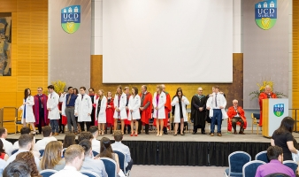 The Medicine White Coat Ceremony