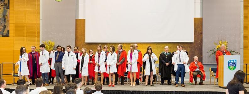 The Medicine White Coat Ceremony
