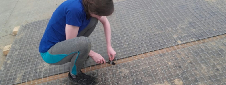 A Day in the Life of an Intern- Building the I-LOFAR Telescope