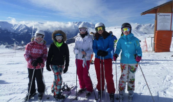 My Friends are Flakes… but SNOW much fun! UCD SNOWSPORTS take on ALPE D'HUEZ!