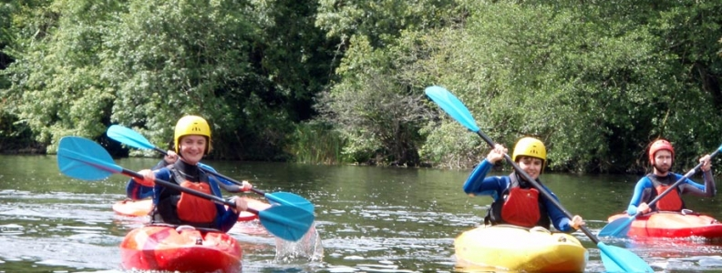 A Day Out on the Water with UCD Canoe Club!