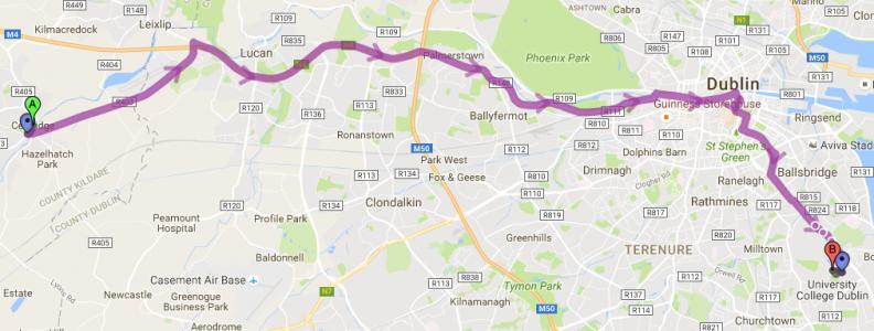My Daily Commute – Celbridge to UCD