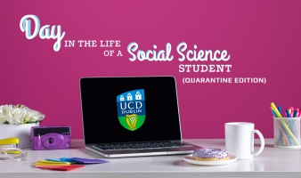 A day in the life of a social science student (quarantine edition)