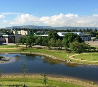 Summer on campus at UCD